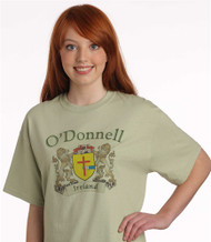 Irish Coat of Arms Tee Shirt | Irish Rose Gifts