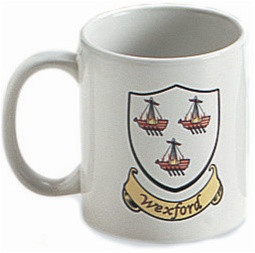 Irish County Coat of Arms Mug | Irish Rose Gifts