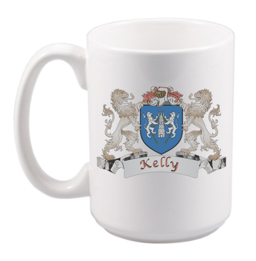 Lions Coat of Arms Mug - 15 oz