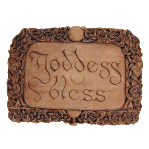 Goddess Bless Plaque