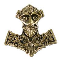 Bronze Thor Hammer Pendant