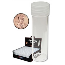 BCW Coin Tubes - Penny