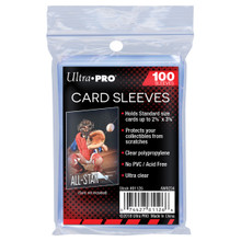 "Ultra Pro 2-1/2"" X 3-1/2"" Soft Card Sleeves"