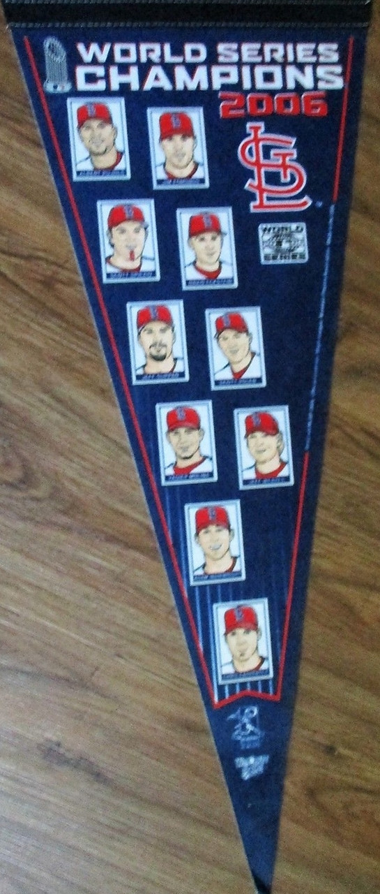 2006 World Series Champions Pennant Price 650 Image 1