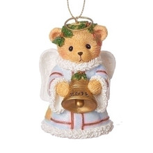 Cherished Teddies Dated 2018 Angel Ornament