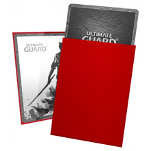 Ultimate Guard Katana Sleeves Standard Size Red