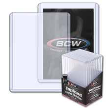 BCW Thick Card Toploader - 197 PT. (10 Pack)