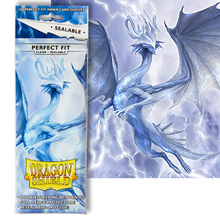 Dragon Shield Sealable Card Sleeves 100 pack Clear 'Thindra'