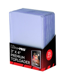 Ultra Pro Stor Safe 3x4 Premium Top Loaders 25 Pack