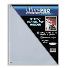 "Ultra Pro Lucite 8"" X 10"" Screwdown"