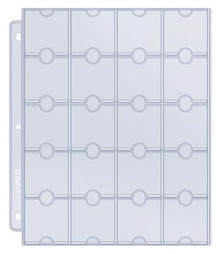 Ultra Pro 20 Pocket Multi-Coin Protection Pages