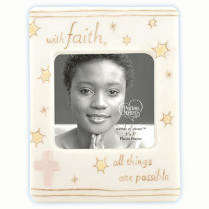 Precious Moments Faith Porcelain Frame 3 LEFT