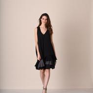 pretty angel Black & Gray Boho Dress Set