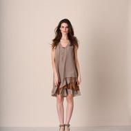Brown & Coffee Boho Dress Set