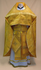 Russian Priest's Vestments: Gold #5 - 54-56/155 cm