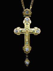 Jeweled Cross #33