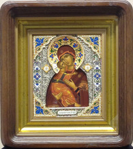 Vladimir Icon - Silkscreen, Enamel