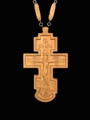 Wood Pectoral Cross #3