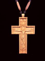 Wood Pectoral Cross #6