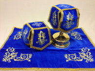 Aer and Chalice Veil Set - Blue #6