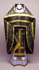 Russian Priest's Vestments: Black #6 - 54/149 cm