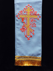 Large Gospel/Epistle Marker - Blue #4
