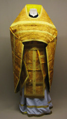 Russian Priest's Vestments: Gold #8 - 48/145 cm