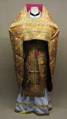Russian Priest's Vestments: Gold #11 - 52/145 cm