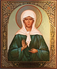 St. Matrona (Mounted)