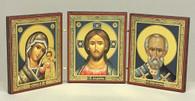 Small Triptych with St. Nicholas