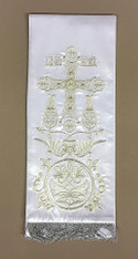 Large Gospel/Epistle Marker - White #4
