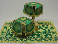 Aer and Chalice Veil Set - Green #6