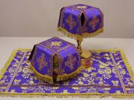 Aer and Chalice Veil Set - Purple #6