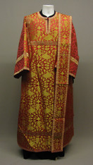 Deacon's Vestments: Red #7 - 46-48 / 145