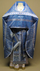 Russian Priest's Vestments: Blue #15 - 50-52 /155