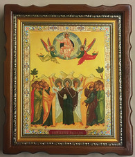 12 Great Feasts Icon (Mounted)