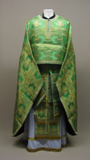 Greek Priest's Vestments: Green #10 - 54/155