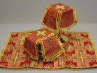Aer and Chalice Veil Set - Red #11