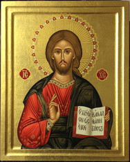 Savior Icon (Mounted)