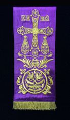 Small Gospel/Epistle Marker - Purple #1