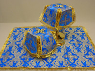 Aer and Chalice Veil Set - Blue #14