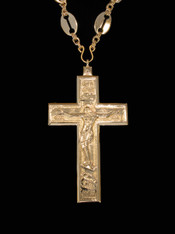 Gold Pectoral Cross #12