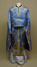 Greek Priest's Vestments: Blue #9 - 52/140