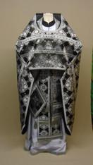 Russian Priest's Vestments: Black #11 - 56/155