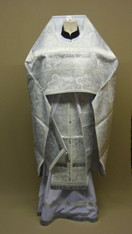Russian Priest's Vestments: White #20 - 58/155