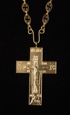 Gold Pectoral Cross #13