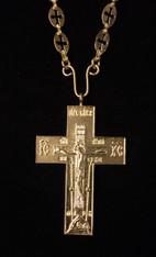 Gold Pectoral Cross #13
