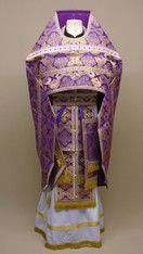 Russian Priest's Vestments: Purple #13 - 48/145