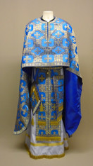 Greek Priest's Vestments: Blue #10 - 52/145