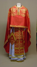 Greek Priest's Vestments: Red #5 - 52/145